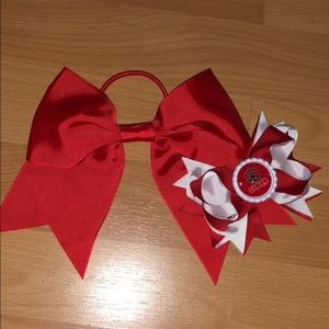 Cheer bow and hair Clippie